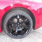 Refurbishment of alloy wheels
